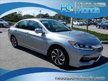 2017 Honda Accord for sale in Clermont, FL