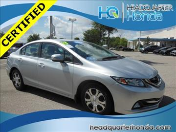 2013 Honda Civic for sale in Clermont, FL