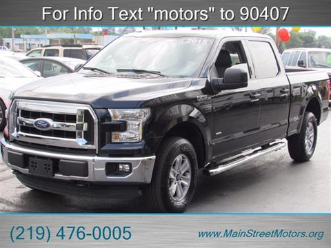 Ford f 150 for sale in valparaiso in for Main street motors valparaiso in