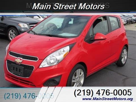 Used chevrolet spark for sale in indiana for Main street motors valparaiso in