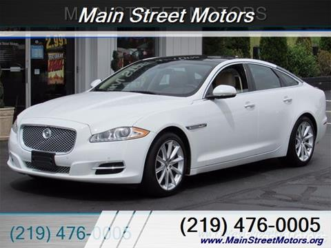 Jaguar xj for sale in indiana for Main street motors valparaiso indiana