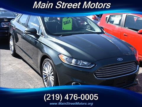 Ford for sale in valparaiso in for Main street motors valparaiso in