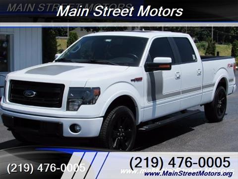 Ford f 150 for sale valparaiso in for Main street motors valparaiso in