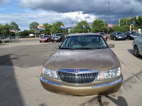 1999 Lincoln Continental for sale in Saint Paul, MN