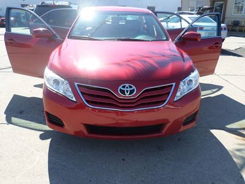 2011 Toyota Camry for sale at Minuteman Auto Sales in Saint Paul MN