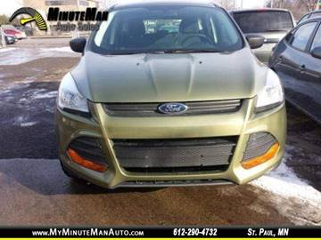 2014 Ford Escape for sale at Minuteman Auto Sales in Saint Paul MN