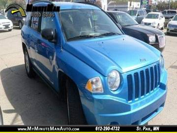 2008 Jeep Compass for sale at Minuteman Auto Sales in Saint Paul MN