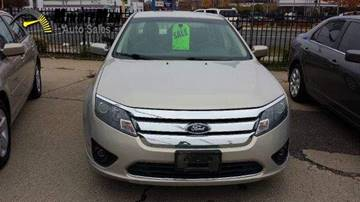 2010 Ford Fusion for sale at Minuteman Auto Sales in Saint Paul MN