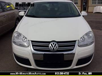 2008 Volkswagen Jetta for sale at Minuteman Auto Sales in Saint Paul MN