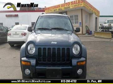 2004 Jeep Liberty for sale at Minuteman Auto Sales in Saint Paul MN