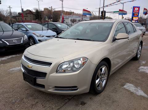 2010 Chevrolet Malibu for sale at Minuteman Auto Sales in Saint Paul MN