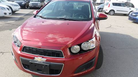 2014 Chevrolet Sonic for sale at Minuteman Auto Sales in Saint Paul MN