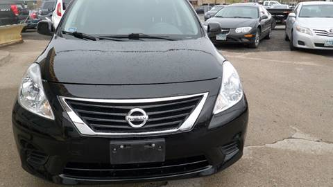 2013 Nissan Versa for sale at Minuteman Auto Sales in Saint Paul MN