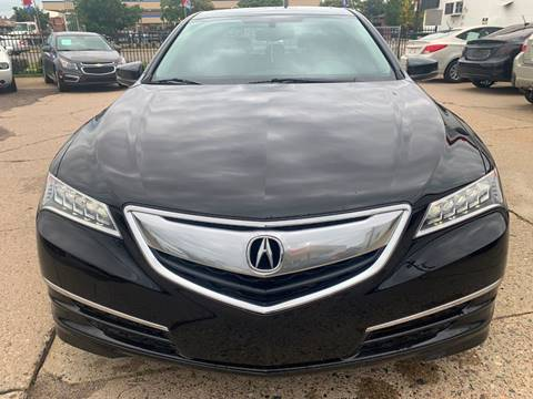 2015 Acura TLX for sale at Minuteman Auto Sales in Saint Paul MN