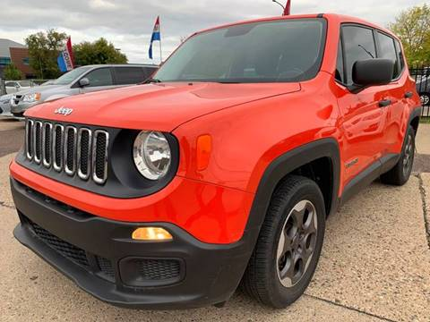2015 Jeep Renegade for sale at Minuteman Auto Sales in Saint Paul MN