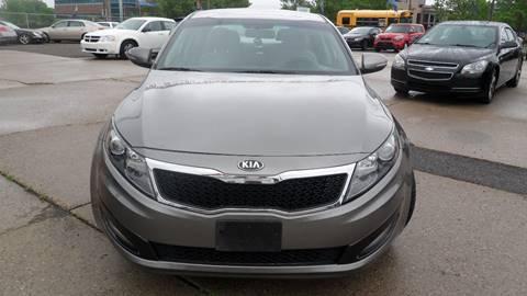 2013 Kia Optima for sale at Minuteman Auto Sales in Saint Paul MN