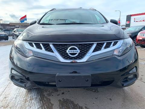 2014 Nissan Murano for sale at Minuteman Auto Sales in Saint Paul MN