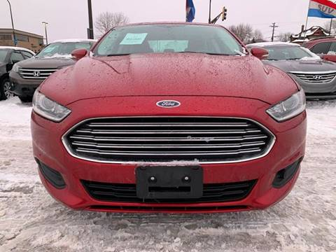 2016 Ford Fusion for sale at Minuteman Auto Sales in Saint Paul MN