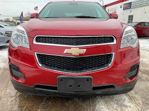2015 Chevrolet Equinox for sale at Minuteman Auto Sales in Saint Paul MN