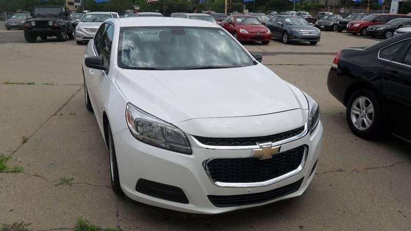 2015 Chevrolet Malibu for sale at Minuteman Auto Sales in Saint Paul MN