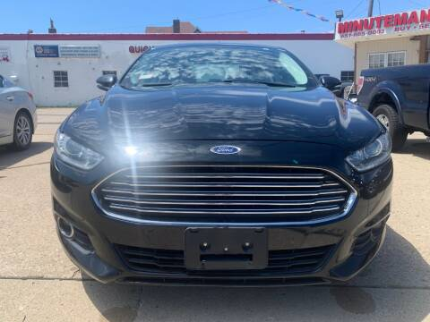 2014 Ford Fusion for sale at Minuteman Auto Sales in Saint Paul MN