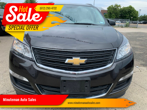 2016 Chevrolet Traverse for sale at Minuteman Auto Sales in Saint Paul MN