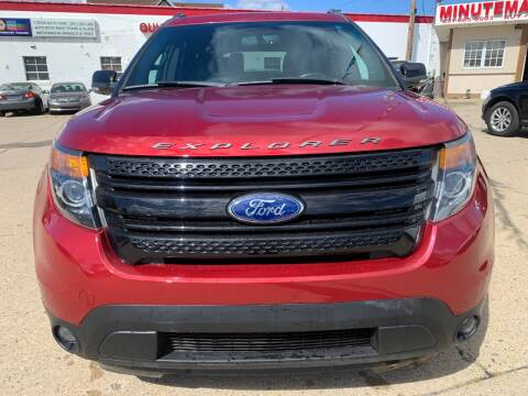 2015 Ford Explorer for sale at Minuteman Auto Sales in Saint Paul MN