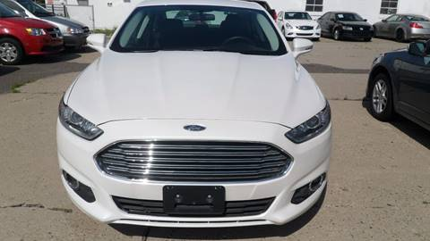 2015 Ford Fusion for sale at Minuteman Auto Sales in Saint Paul MN