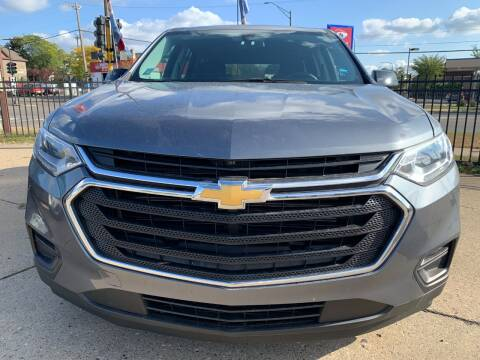 2018 Chevrolet Traverse for sale at Minuteman Auto Sales in Saint Paul MN