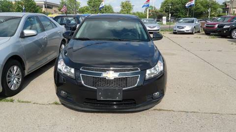 2012 Chevrolet Cruze for sale at Minuteman Auto Sales in Saint Paul MN