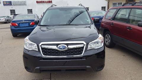 2014 Subaru Forester for sale at Minuteman Auto Sales in Saint Paul MN