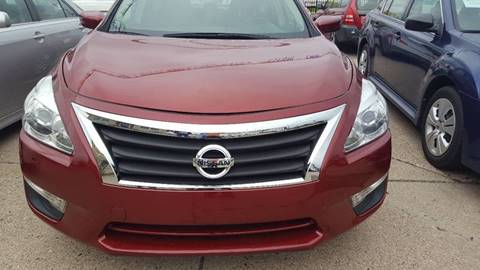 2013 Nissan Altima for sale at Minuteman Auto Sales in Saint Paul MN