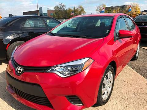 2014 Toyota Corolla for sale at Minuteman Auto Sales in Saint Paul MN