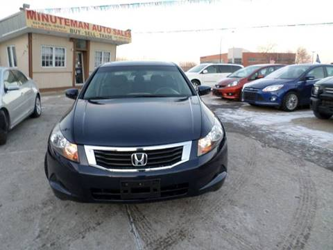 2009 Honda Accord for sale at Minuteman Auto Sales in Saint Paul MN