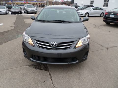 2013 Toyota Corolla for sale at Minuteman Auto Sales in Saint Paul MN
