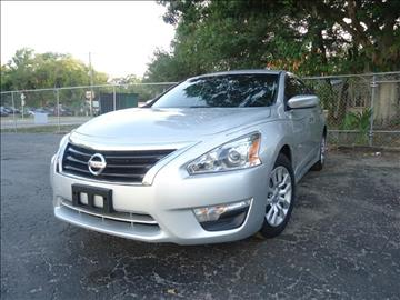 2014 Nissan Altima for sale in Seffner, FL