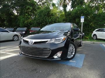 2015 Toyota Avalon Hybrid for sale in Seffner, FL