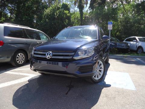 2015 Volkswagen Tiguan for sale in Seffner, FL