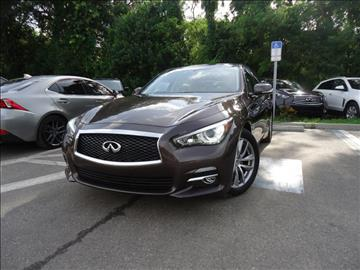 2014 Infiniti Q50 for sale in Seffner, FL
