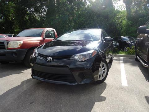 2015 Toyota Corolla for sale in Seffner, FL