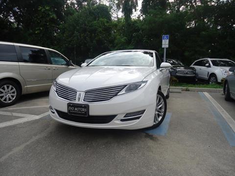 2014 Lincoln MKZ Hybrid for sale in Seffner, FL