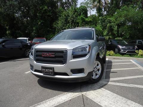 2014 GMC Acadia for sale in Seffner, FL