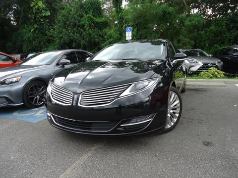 2015 Lincoln MKZ for sale in Seffner, FL
