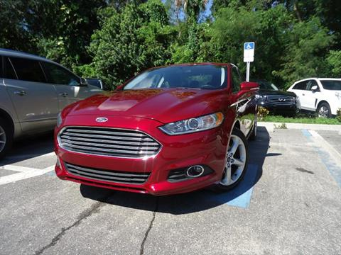 2016 Ford Fusion for sale in Seffner, FL