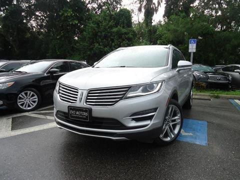 2016 Lincoln MKC for sale in Seffner, FL
