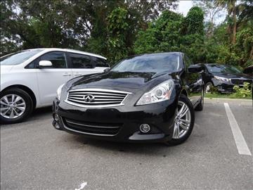 2013 Infiniti G37 Sedan for sale in Seffner, FL