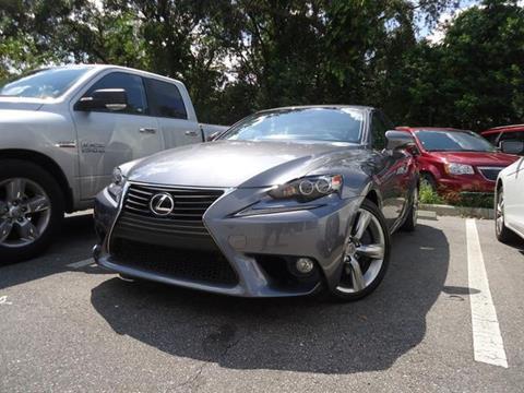 2014 Lexus IS 350 for sale in Seffner, FL