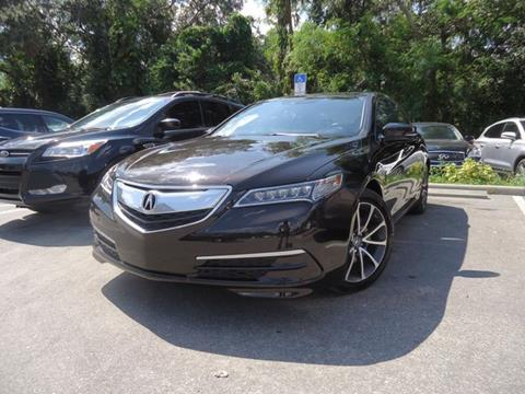 2015 Acura TLX for sale in Seffner, FL
