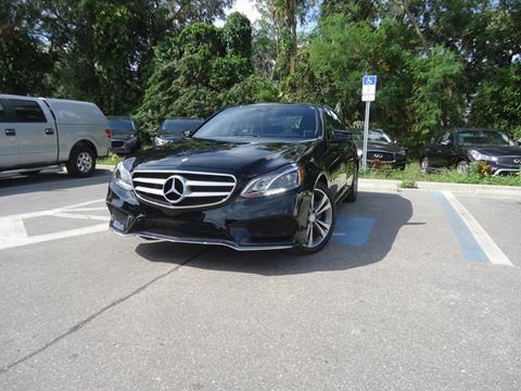 2016 Mercedes-Benz E-Class for sale in Seffner, FL