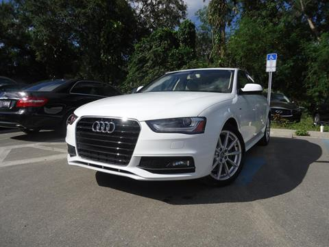 2015 Audi A4 for sale in Seffner, FL
